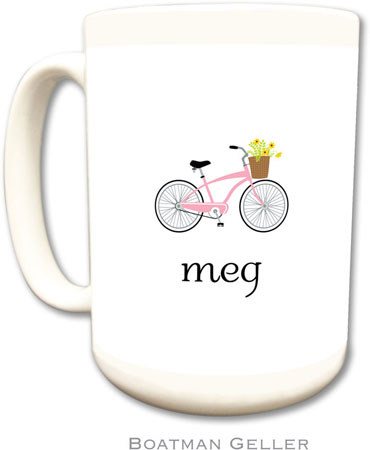 Boatman Geller - Create-Your-Own Personalized Coffee Mugs (Bicycle)