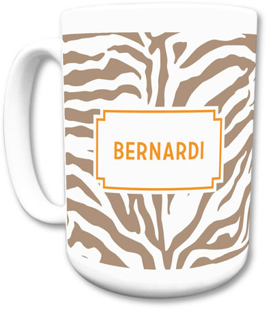 Boatman Geller - Create-Your-Own Mugs (Zebra)