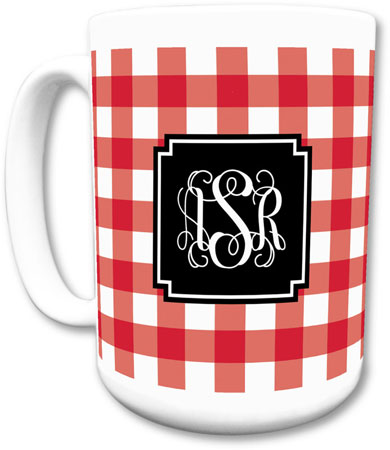 Boatman Geller - Create-Your-Own Mugs (Classic Check)