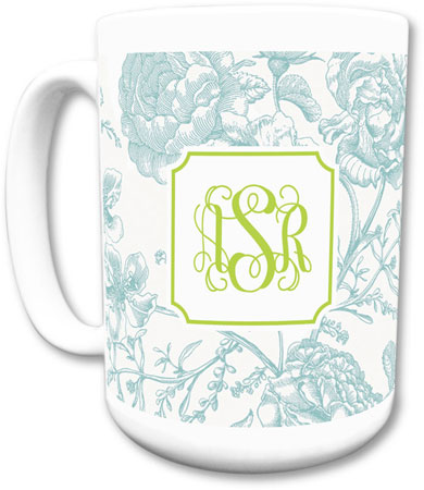 Boatman Geller - Create-Your-Own Mugs (Floral Toile)