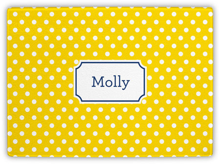 Boatman Geller - Create-Your-Own Cutting Boards (Polka Dot)