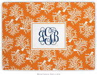 Boatman Geller - Personalized Cutting Boards (Coral Repeat)