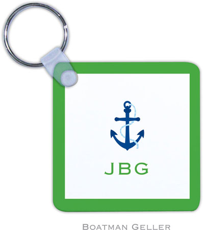 Boatman Geller - Create-Your-Own Personalized Key Chains (Icon With Border)