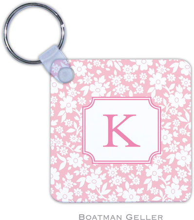 Boatman Geller - Create-Your-Own Personalized Key Chains (Petite Flower Petal Preset)