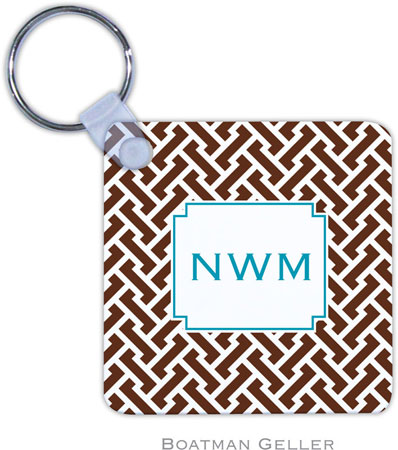 Boatman Geller - Create-Your-Own Personalized Key Chains (Stella Chocolate)