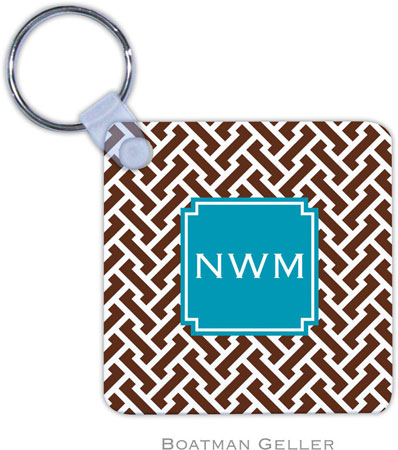 Boatman Geller - Create-Your-Own Personalized Key Chains (Stella Chocolate Preset)