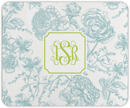 Boatman Geller - Create-Your-Own Mouse Pads (Floral Toile)