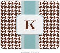 Boatman Geller - Personalized Mousepads (Alex Houndstooth Chocolate)