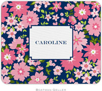 Boatman Geller - Personalized Mouse Pads (Caroline Floral Pink)