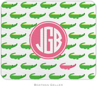 Boatman Geller - Personalized Mousepads (Alligator Repeat Preset)
