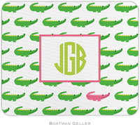 Boatman Geller - Personalized Mousepads (Alligator Repeat)