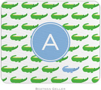 Boatman Geller - Personalized Mousepads (Alligator Repeat Blue Preset)