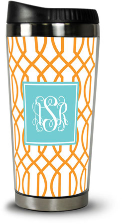 Boatman Geller - Create-Your-Own Travel Tumblers (Trellis Reverse)