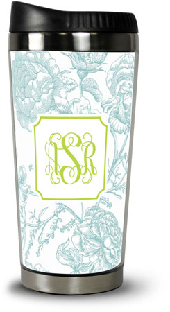 Boatman Geller - Create-Your-Own Travel Tumblers (Floral Toile)