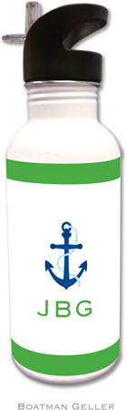 Boatman Geller - Create-Your-Own Personalized Water Bottles (Icon With Border)