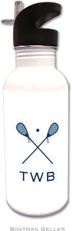 Boatman Geller - Create-Your-Own Personalized Water Bottles (Lacrosse)