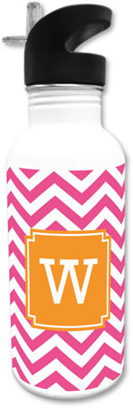 Boatman Geller - Create-Your-Own Water Bottles (Chevron)