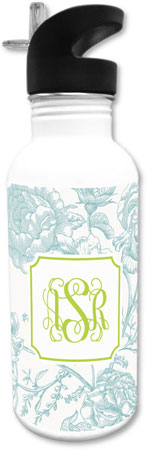 Boatman Geller - Create-Your-Own Water Bottles (Floral Toile)