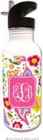 Boatman Geller - Personalized Water Bottles (Bright Floral Preset)