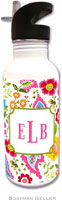 Boatman Geller - Personalized Water Bottles (Bright Floral)