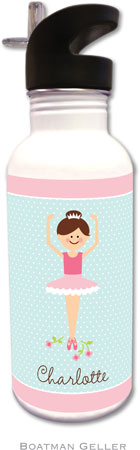 Boatman Geller - Personalized Water Bottles (Ballerina)