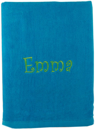 Beach Towels - Aqua
