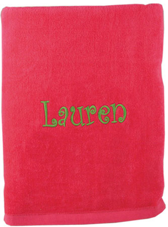 Beach Towels - Fuchsia