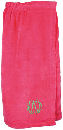 Adult Bath Wraps - Hot Pink