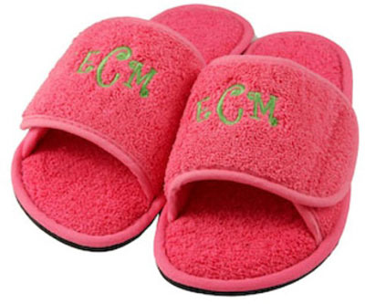 Adult Slippers - Hot Pink