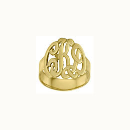 Gold Vermeil Cutout Ring