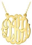 Gold Vermeil Split Chain Necklace
