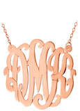 Rose Gold Vermeil Split Chain Necklace