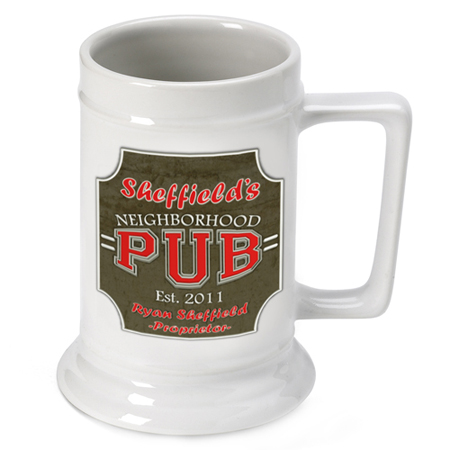 Beer Steins - Neighborhood Pub