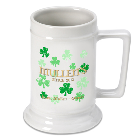 Beer Steins - Raining Clovers