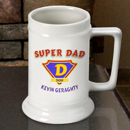 Beer Steins - Super Dad