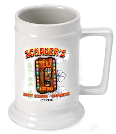 Beer Steins - Tiki