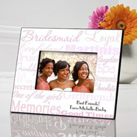 Bridesmaid Frame - Shades Pink