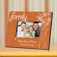 Breath of Spring Frame - Family