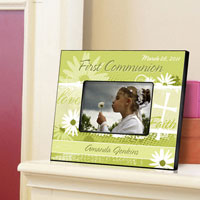 First Communion Frame - Daisy Communion