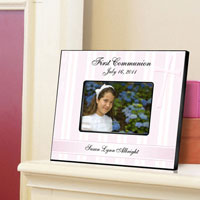 First Communion Frame - God Bless
