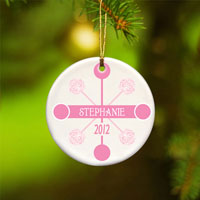 Contemporary Classic Ornament - Pink