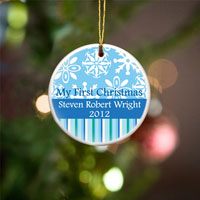 My First Christmas Ornament - Blue
