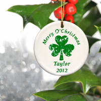 Irish Ornament - Clover
