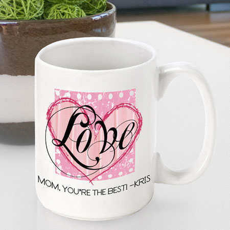 Mother's Day Coffee Mug - Shabby Love