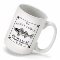 Cabin Series Coffee Mug - Walleye