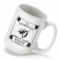Cabin Series Coffee Mug - White Oak (GC489)