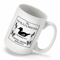 Cabin Series Coffee Mug - Wood Duck (GC489)