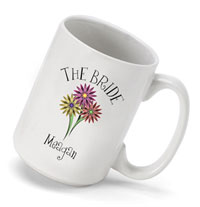 Bouquet Coffee Mug - Bride (GC494)