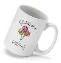 Bouquet Coffee Mug - Grandma