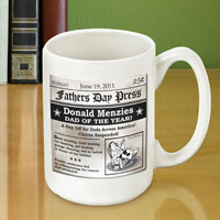 Father�s Day Headline Coffee Mug (GC510)